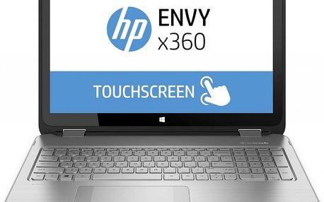 Netbook HP Envy 15-w007 M7V83EA, stříbrný + 200 Kč za registraci