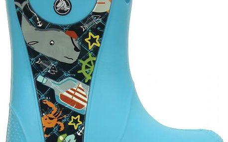 Crocs Handle It Sea Life Rain Boot, dětské, dostupné velikosti 30-31