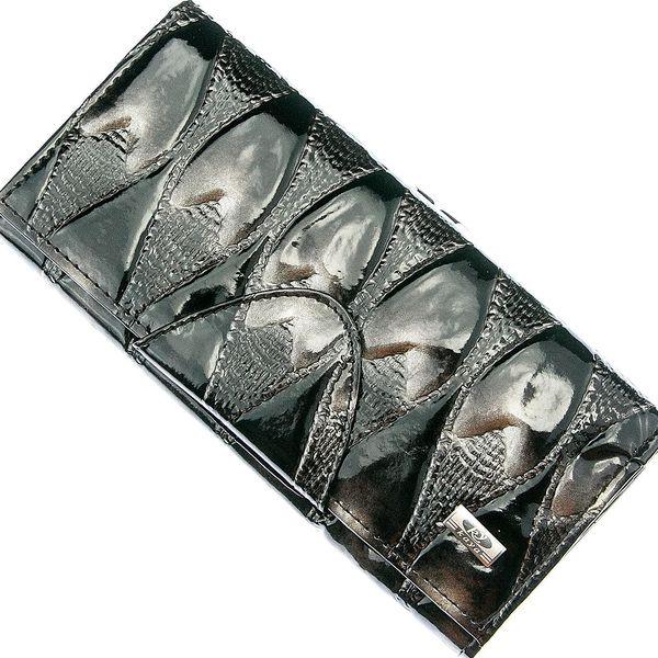 Dámská peněženka Metalic Hearts lesklá