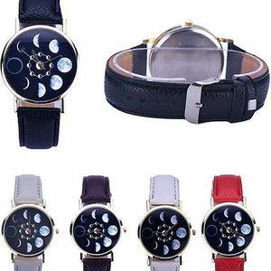 Dámské hodinky s fázemi měsíce