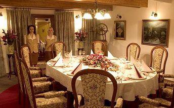 Rudolfovo plato v restaurantu Golem