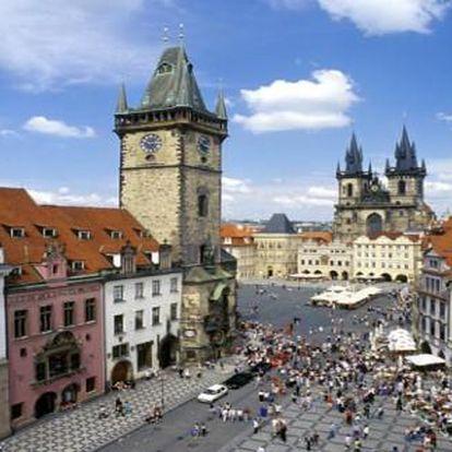 Letní i podzimní Praha Hotel Pawlovnia*** 3 dny pro 2 se snídaněmi, bazénem a vínem