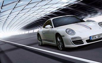 Jízda v nadupaném sporťáku Porsche Carrera 911 včetně paliva