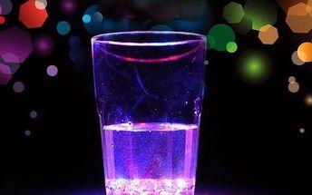 Indukční LED sklenička na whisky / víno