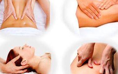 Hodinová relaxační aroma masáž nebo masáž proti celulitidě a formování postavy se zábalem.