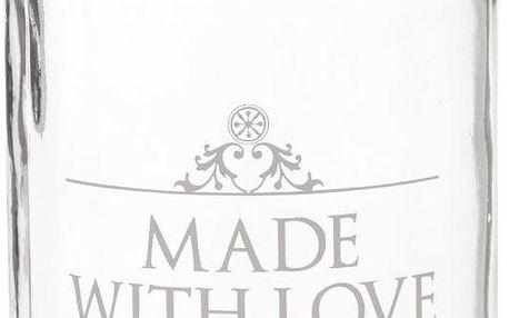 Zavařovací sklenice Home Made Made with Love, 454 ml