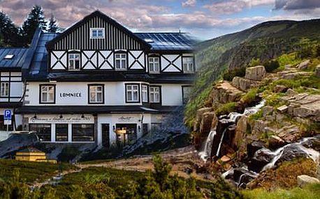 Horský pobyt v Hotelu Lomnice*** s polopenzí a dítětem do 12 let zdarma
