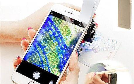 Univerzální LED mikroskop pro smartphony
