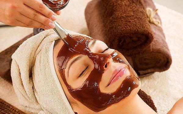 60minutové kosmetické ošetření s vůní čokolády v Praze