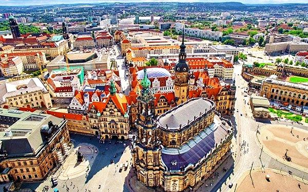 Celodenní zájezd do Drážďan s prohlídkou města a plavbou Saským Švýcarskem pro 1