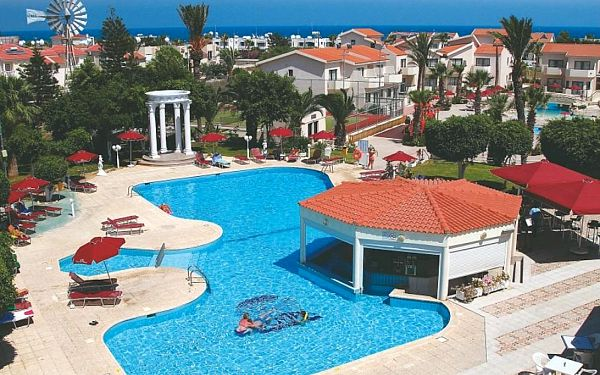 Kypr, Larnaca, letecky na 12 dní s all inclusive