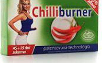 Chilliburner podpora hubnutí 45 + 15 tablet zdarma