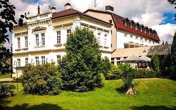 Wellness pobyt pro DVA na 5 dní v 4* Parkhotelu Morris u Lužických hor