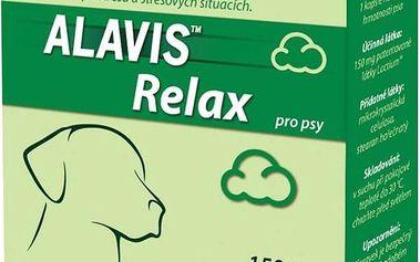 Tablety Alavis Relax 150mg pro psy 80 kapslí