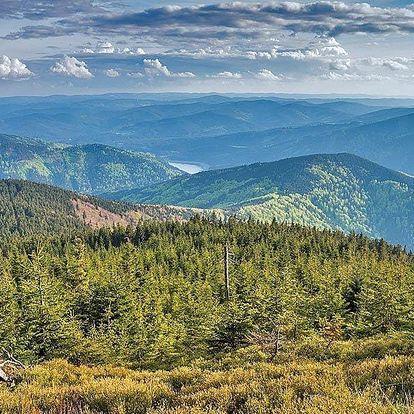 Podzim i zima v Beskydech se stravou a wellness