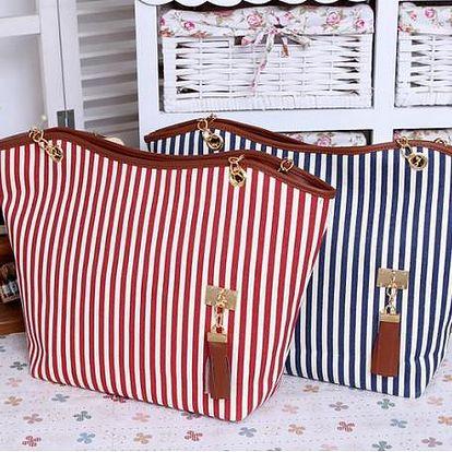 Dámská kabelka v námořním stylu - poslední kusy!