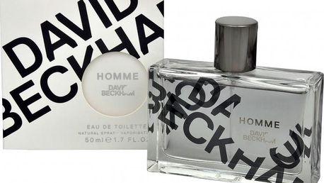 David Beckham Homme - toaletní voda s rozprašovačem 50 ml