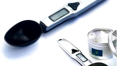 Kuchyňská digitální váha - lžíce - skladovka - poštovné zdarma