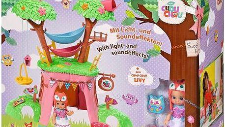 Mini CHOU CHOU stromový domeček