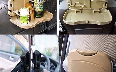 Skládací stoleček do auta