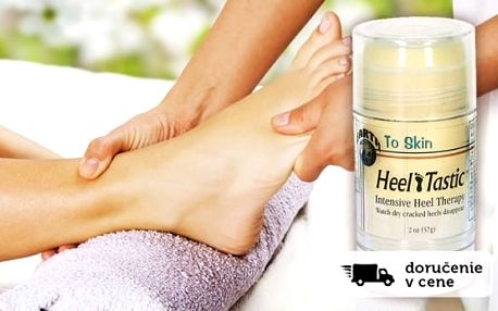 Léčivý krém Heel Tastic na Vaše popraskané chodidla