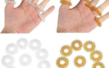 Masážní prsteny - 10 ks