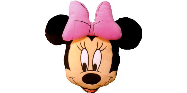 3D polštářek Minnie Stylish rose-hlava 38cm
