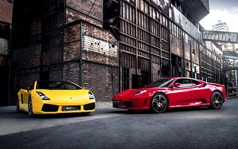 Jízda v supersportu Ferrari nebo Lamborghini