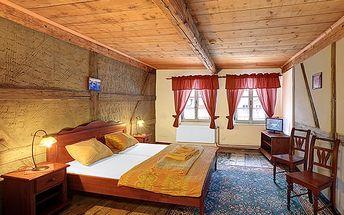 3denní dovolená pro 2 v hotelu Hradní Bašta