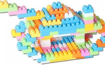 144 kusů pestrobarevné stavebnice pro děti
