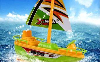 Elektrická loďka pro děti