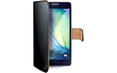 Pouzdro na mobil flipové Celly pro Galaxy A3 (WALLY452) černé