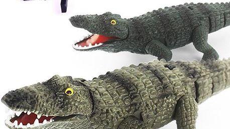 RC krokodýl na dálkové ovládání