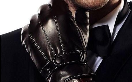 Pánské rukavice na dotykový displej - dodání do 2 dnů