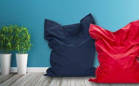 Barevné sedací vaky pro znalce pohodlí