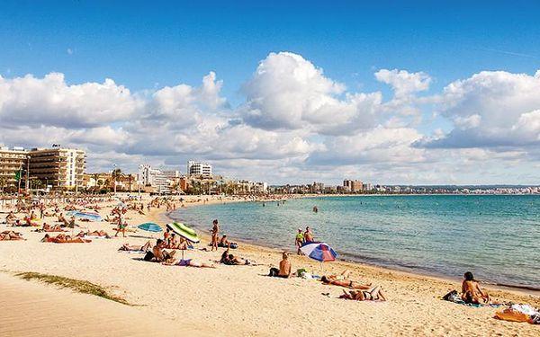 Španělsko, Mallorca, letecky na 11 dní se snídaní