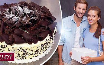 Domácí dorty z kvalitních surovin v cukrárně Merlot na Praze 4