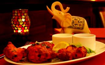 30% sleva na veškerá jídla v indické restauraci Maharaja