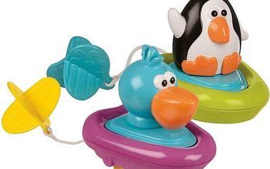 Natahovací lodička Sassy -tučňák