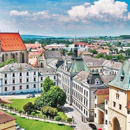Báječná podzimní dovolená v secesním hotelu u Kroměříže pro dva
