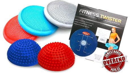 Masážní fitness pomůcky na procvičení stabilizačních svalů