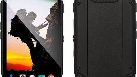 Evolveo StrongPhone Q6 LTE (SGP-Q6-LTE-B) černý + dárek SIM s kreditem T-mobile 200Kč Twist Online Internet (zdarma) + Doprava zdarma