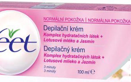 Veet depilační krém 100ml - normal (pro normální pokožku)