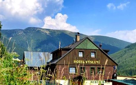 3 až 5 dní v Hotelu Výsluní s polopenzí a neomezeným vstupem do wellness pro dva