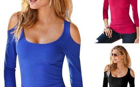 Tričko s odhalenými rameny Robyn