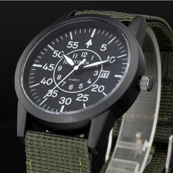 Pánské military hodinky s kalendářem