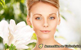 45minutové kosmetické ošetření obličeje v Kosmetice ve Vršovicích v Praze