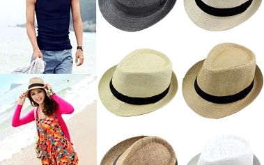 Slaměný klobouk - několik barev