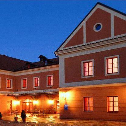 Přepychový pobyt v historickém centru Tábora