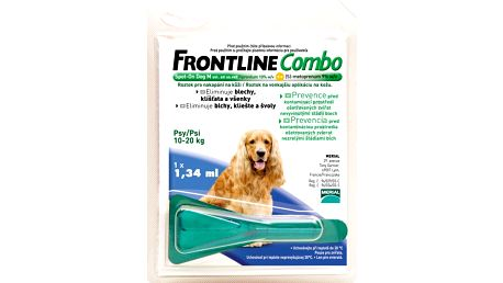Frontline Combo spot-on dog M (10-20 kg)